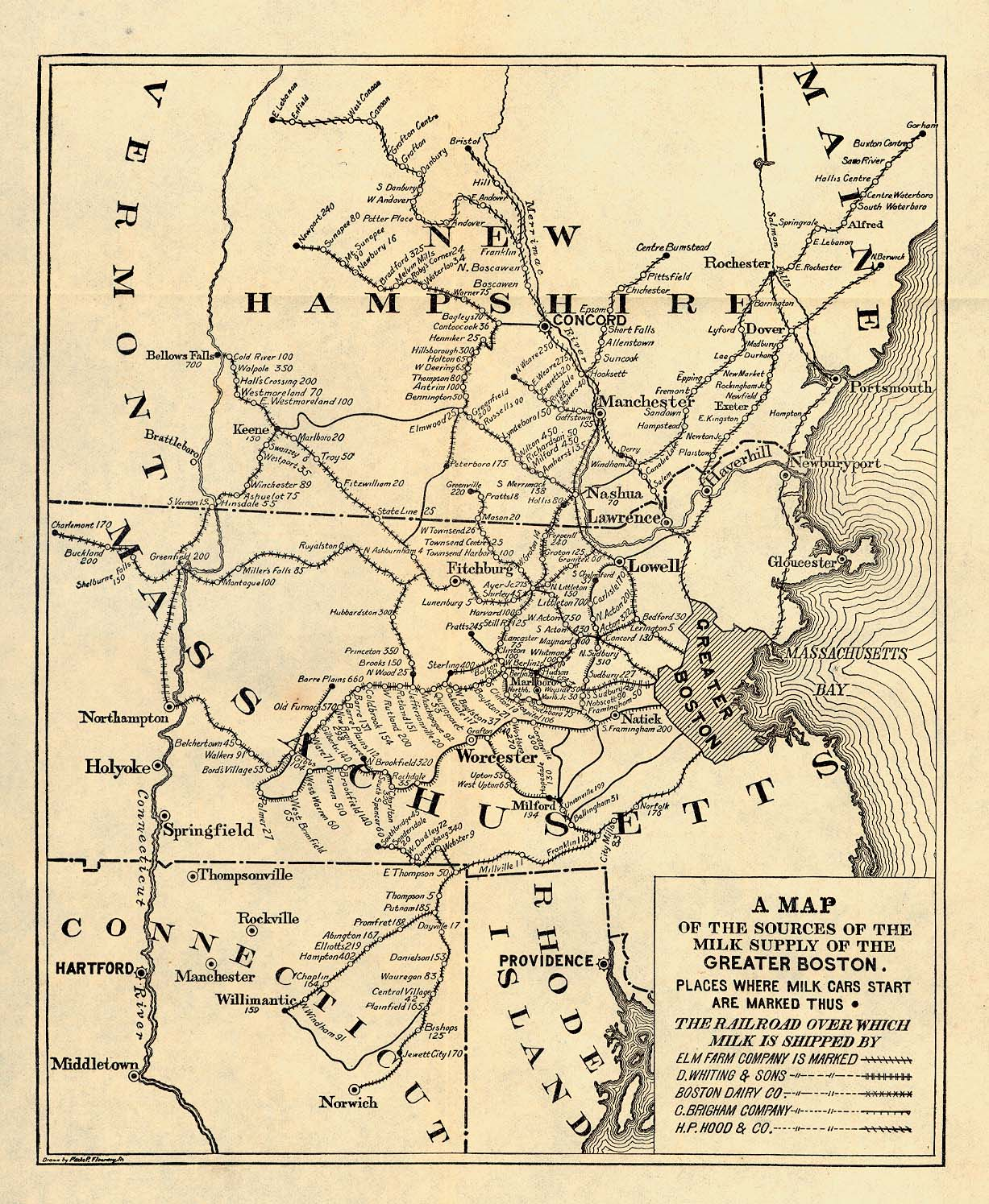 Boston maps atlases and city streets directories bu libraries 655k boston massachusetts 1901a malvernweather Choice Image