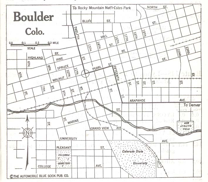 Boulder County Colorado Maps And Gazetteers