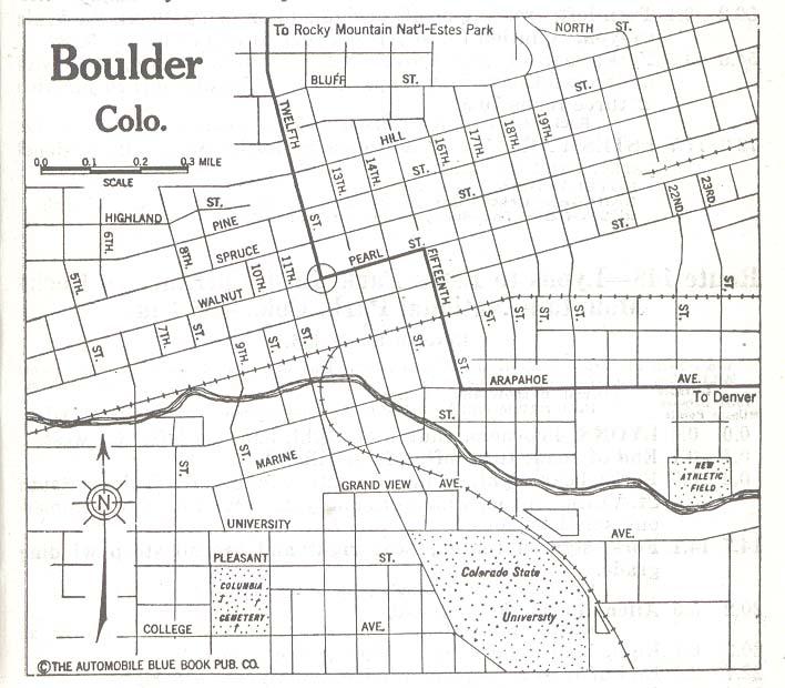Boulder County Colorado Maps And Gazetteers
