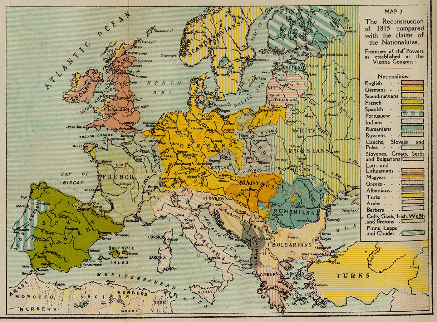Grand strategy maps nationalities and states in europe 1815 gumiabroncs Choice Image