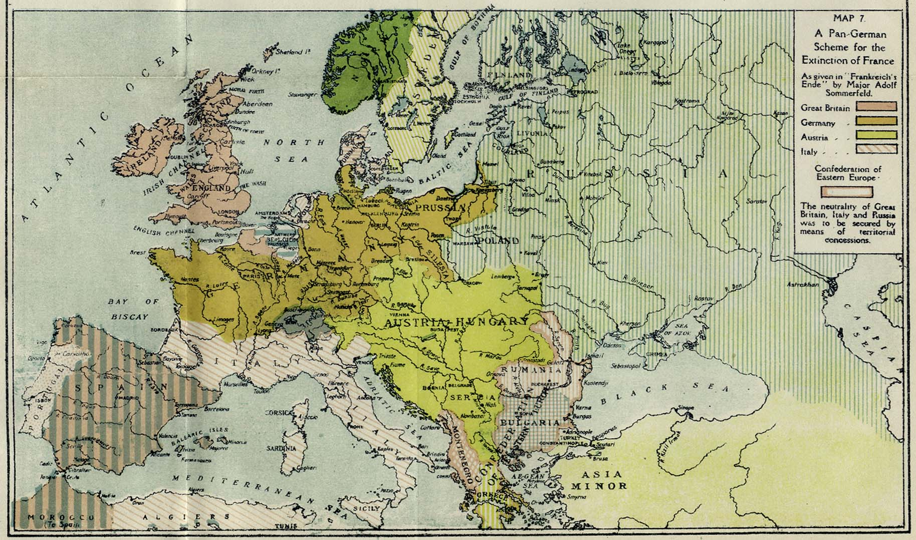 British Dominions Year Book PerryCastañeda Map Collection - Germany map by year