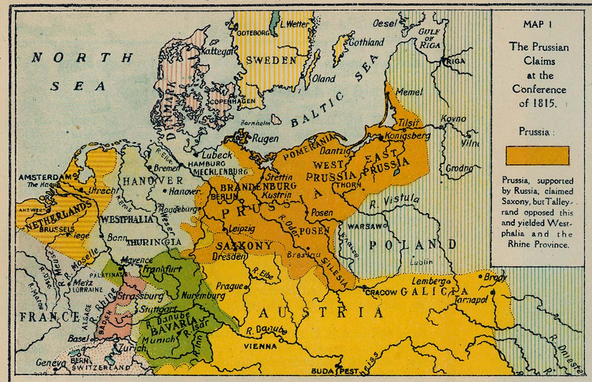 Map Of Germany 1815.British Dominions Year Book 1918 Perry Castaneda Map Collection