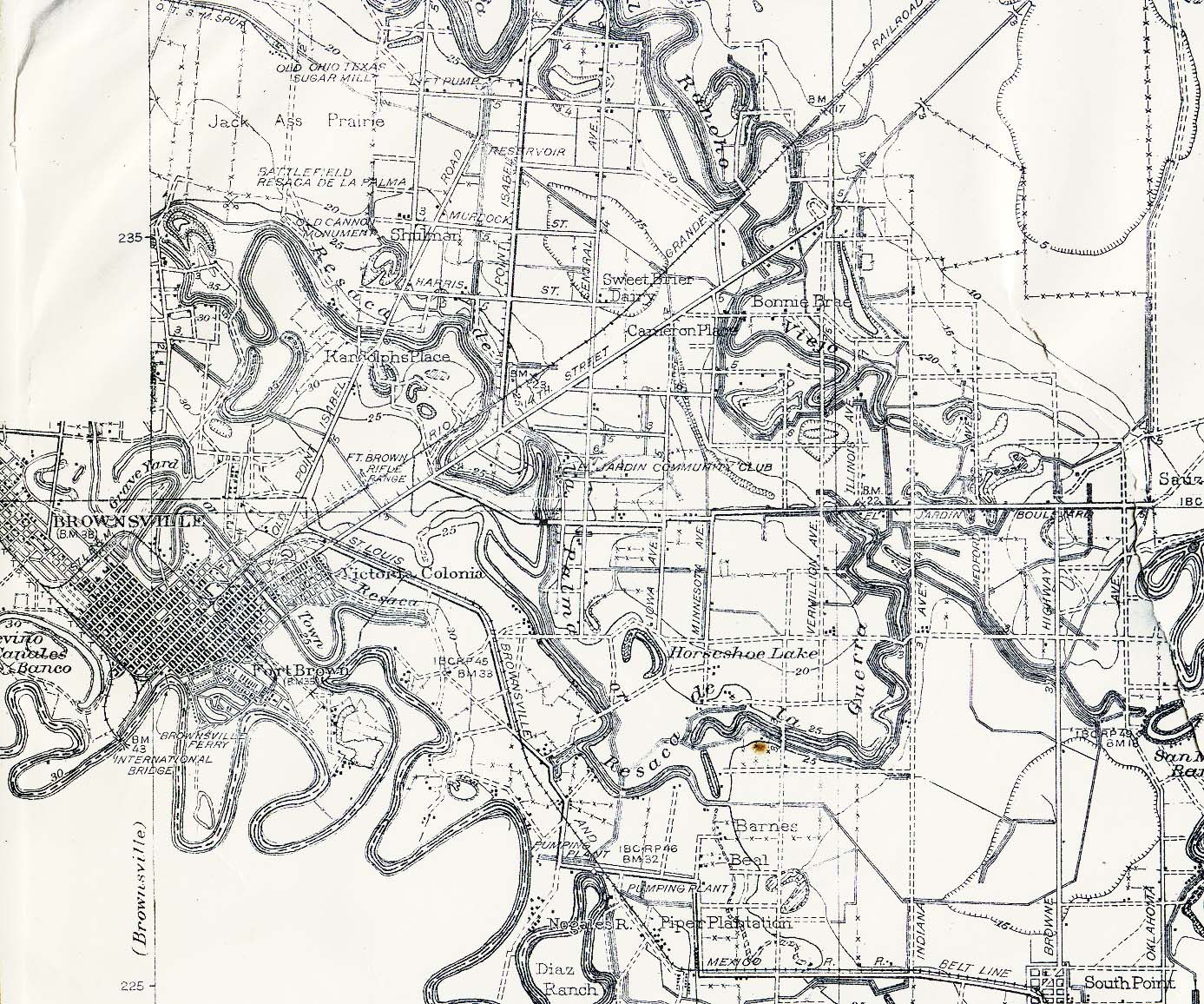 Texas Cities Historical Maps PerryCastañeda Map Collection UT - Steel maps of us cities
