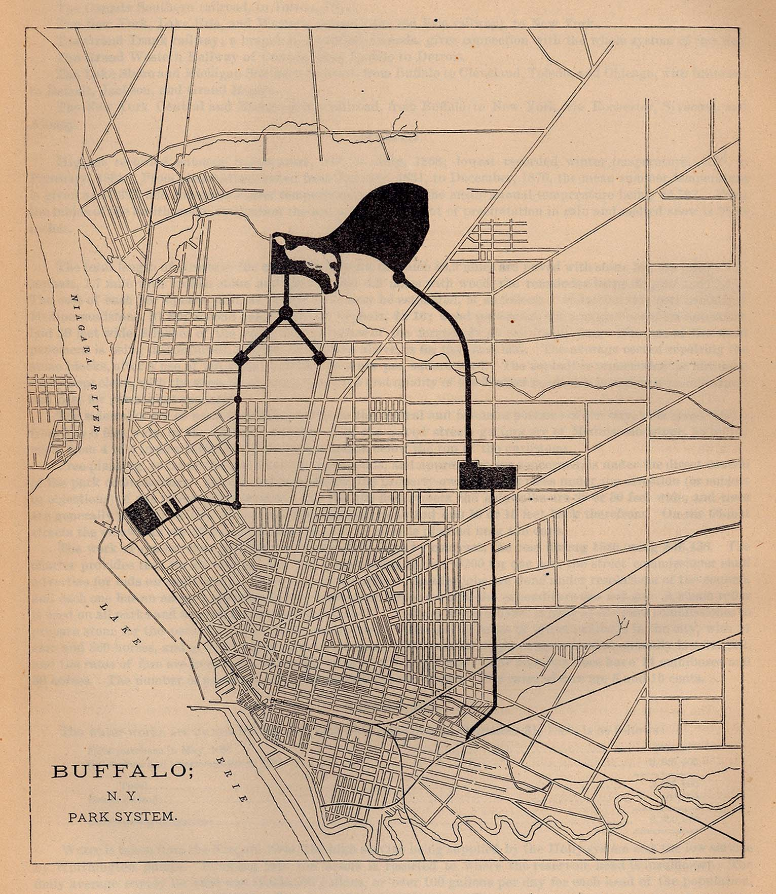 United States Historical City Maps PerryCastañeda Map - Map of us showing buffalo ny