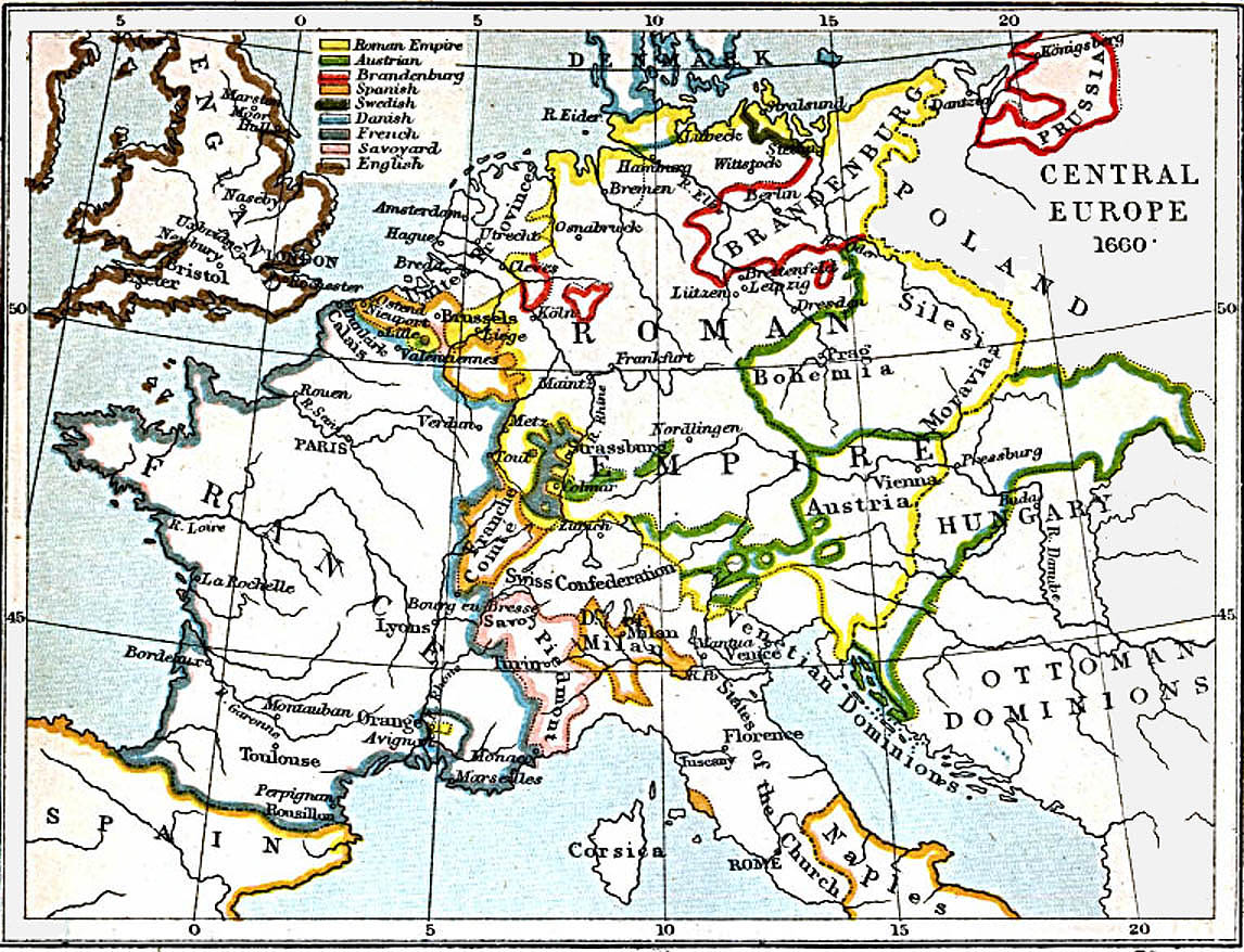 Map Of Europe In 1871.Maps Of Central Europe 980 A D 1871 A D Perry Castaneda Map
