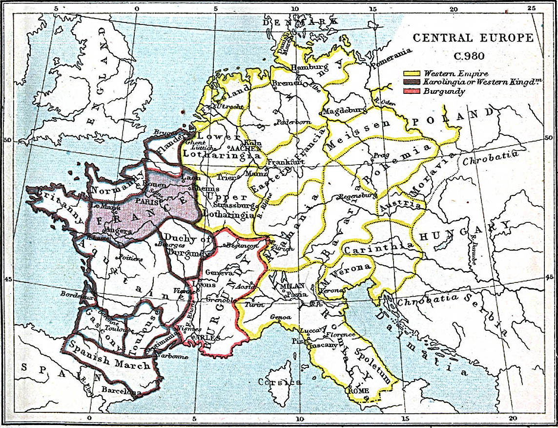 central europe 980 ad