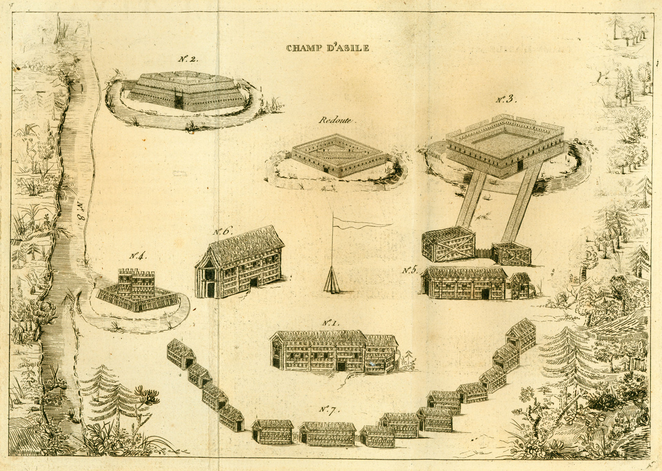 Champ Dasile Texas 1819 Map Texas Mappery