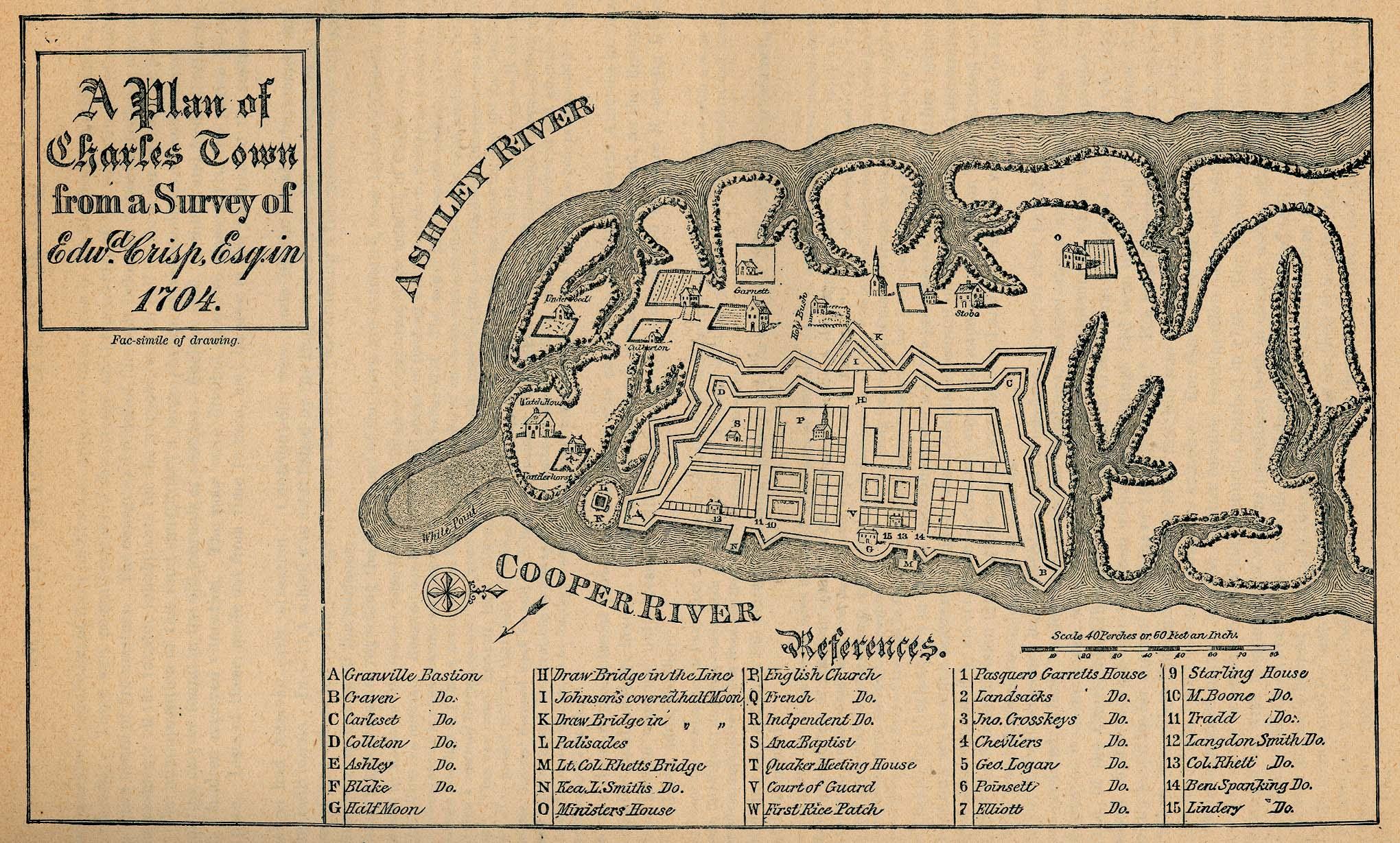 South Carolina Colonial Maps