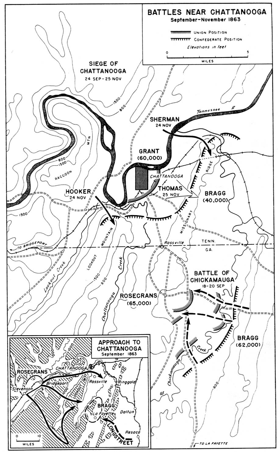 civil war battle coloring pages stones river | United States Historical Maps - Perry-Castañeda Map ...