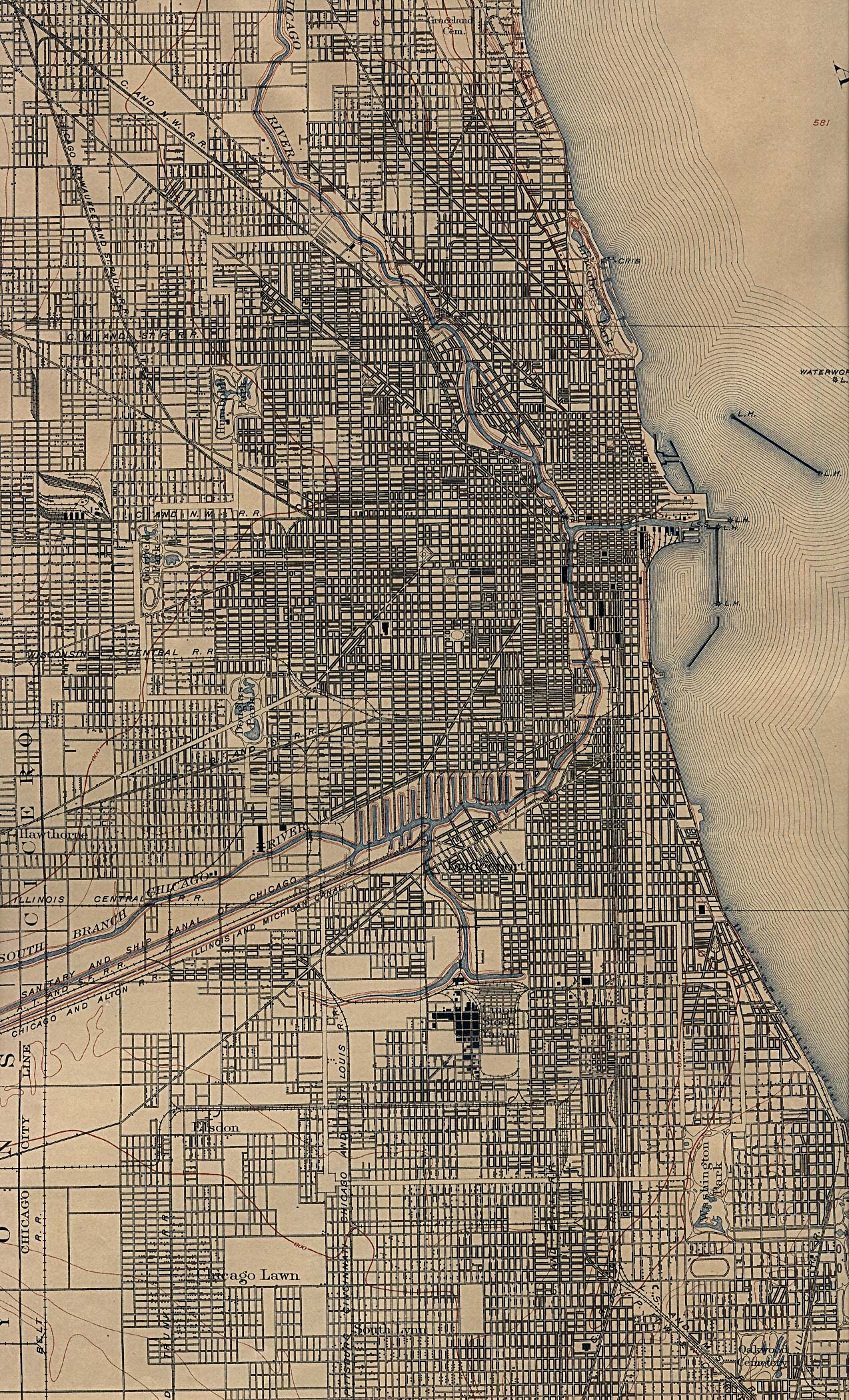 Cook County Illinois Maps And Gazetteers - Chicago illinois map of suburbs