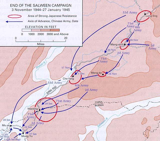 World War II Maps - Perry-Castañeda Map Collection - UT