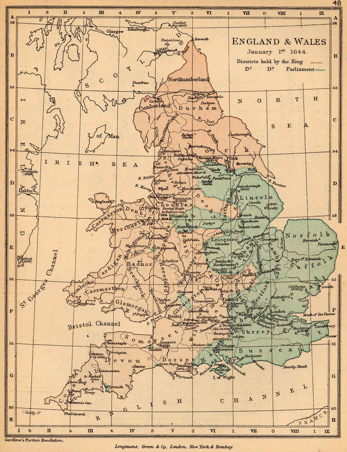 Map Of England And Wales.United Kingdom Maps Perry Castaneda Map Collection Ut Library Online
