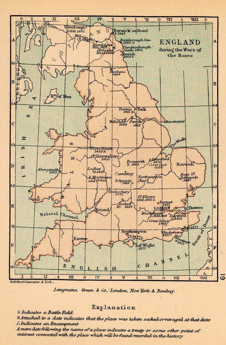 Map Of England Henry Viii.Public Schools Historical Atlas By C Colbeck Perry Castaneda Map