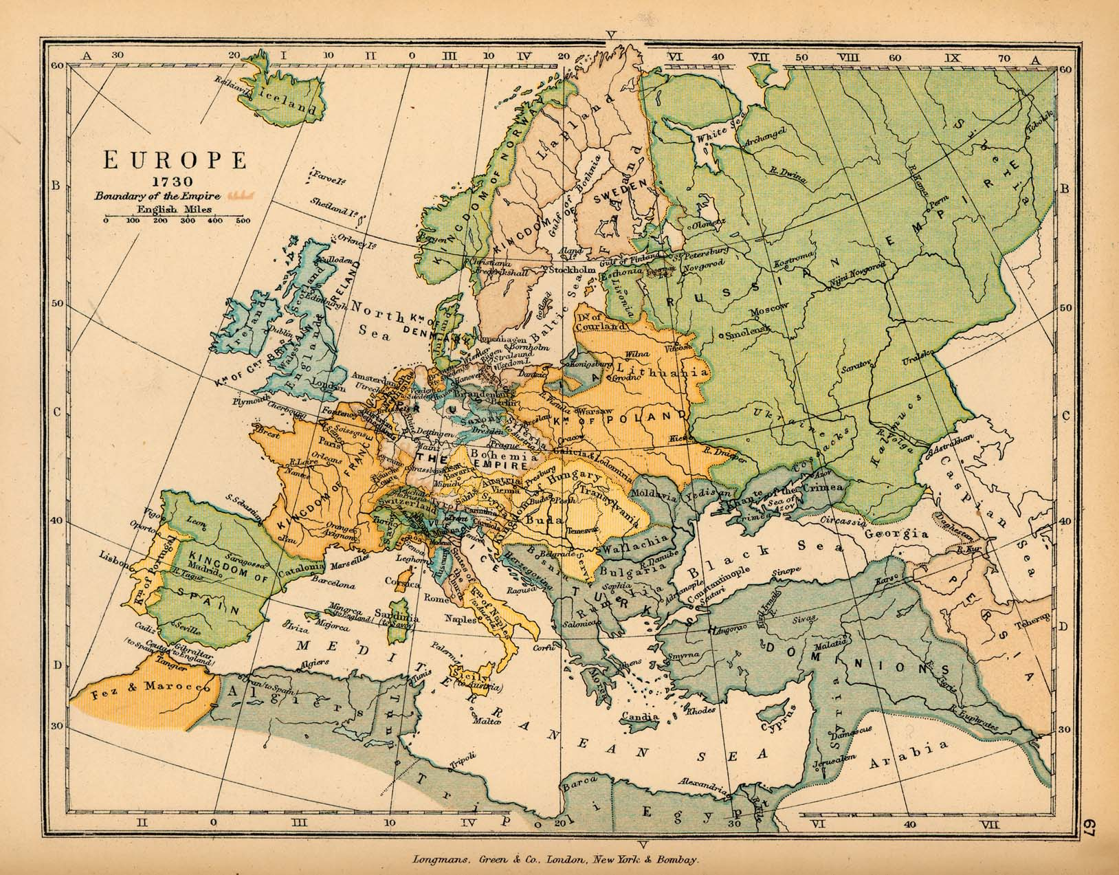 Historical Maps Of Europe - Maps of europe