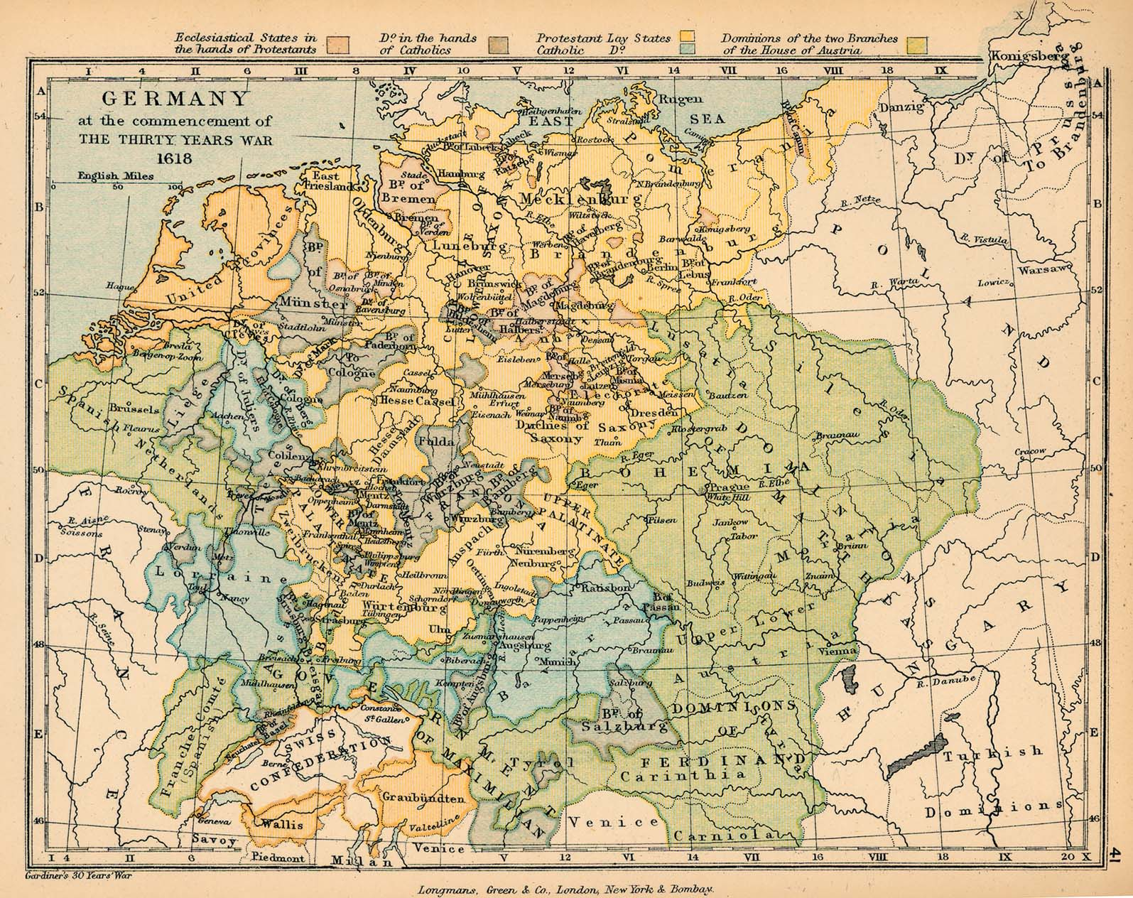 Public Schools Historical Atlas By C Colbeck PerryCastañeda - Germany map by year