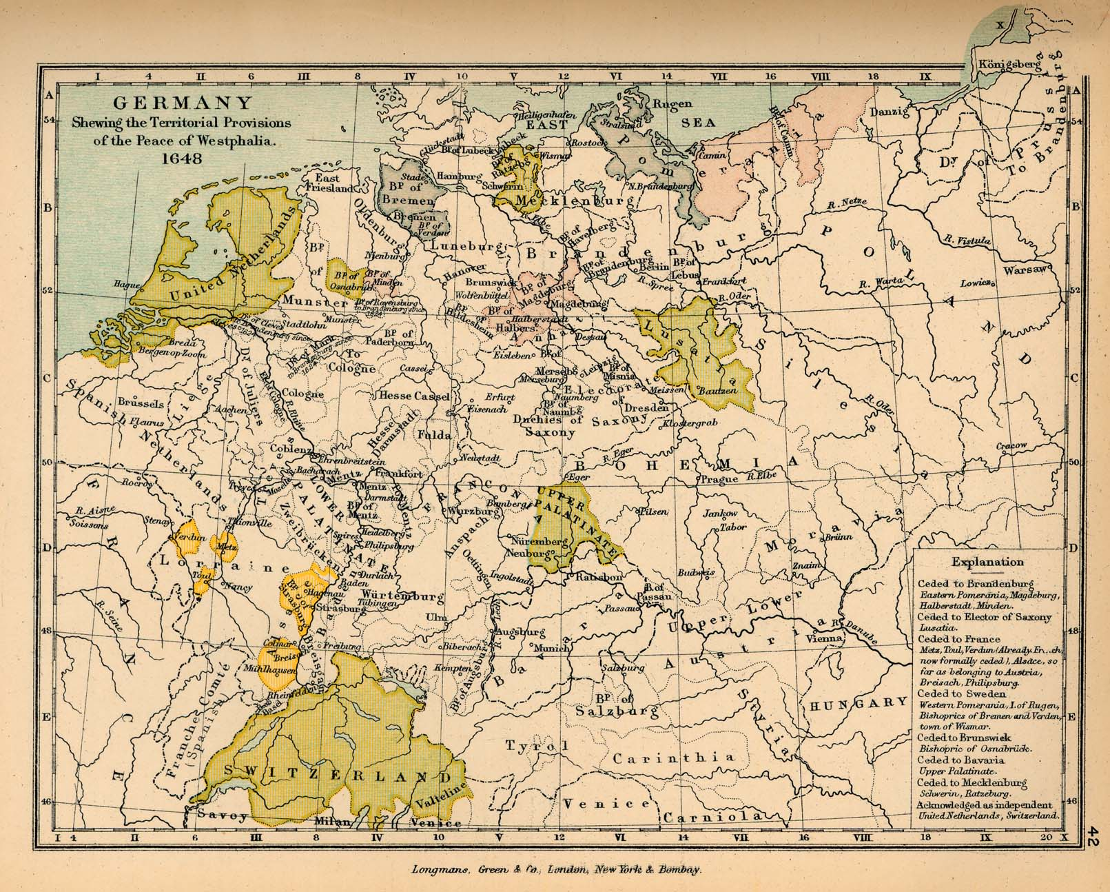 Old Fashioned House Historical Maps Of Germany