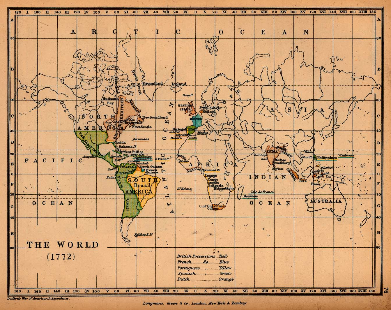 World historical maps perry castaeda map collection ut library the world 1772 gumiabroncs Images