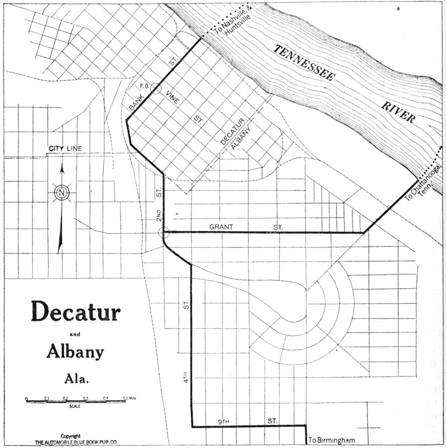 Alabama Maps - Perry-Castañeda Map Collection - UT Library Online