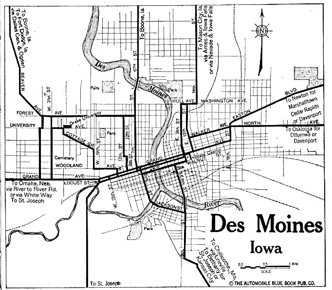 Highways of Des Moines