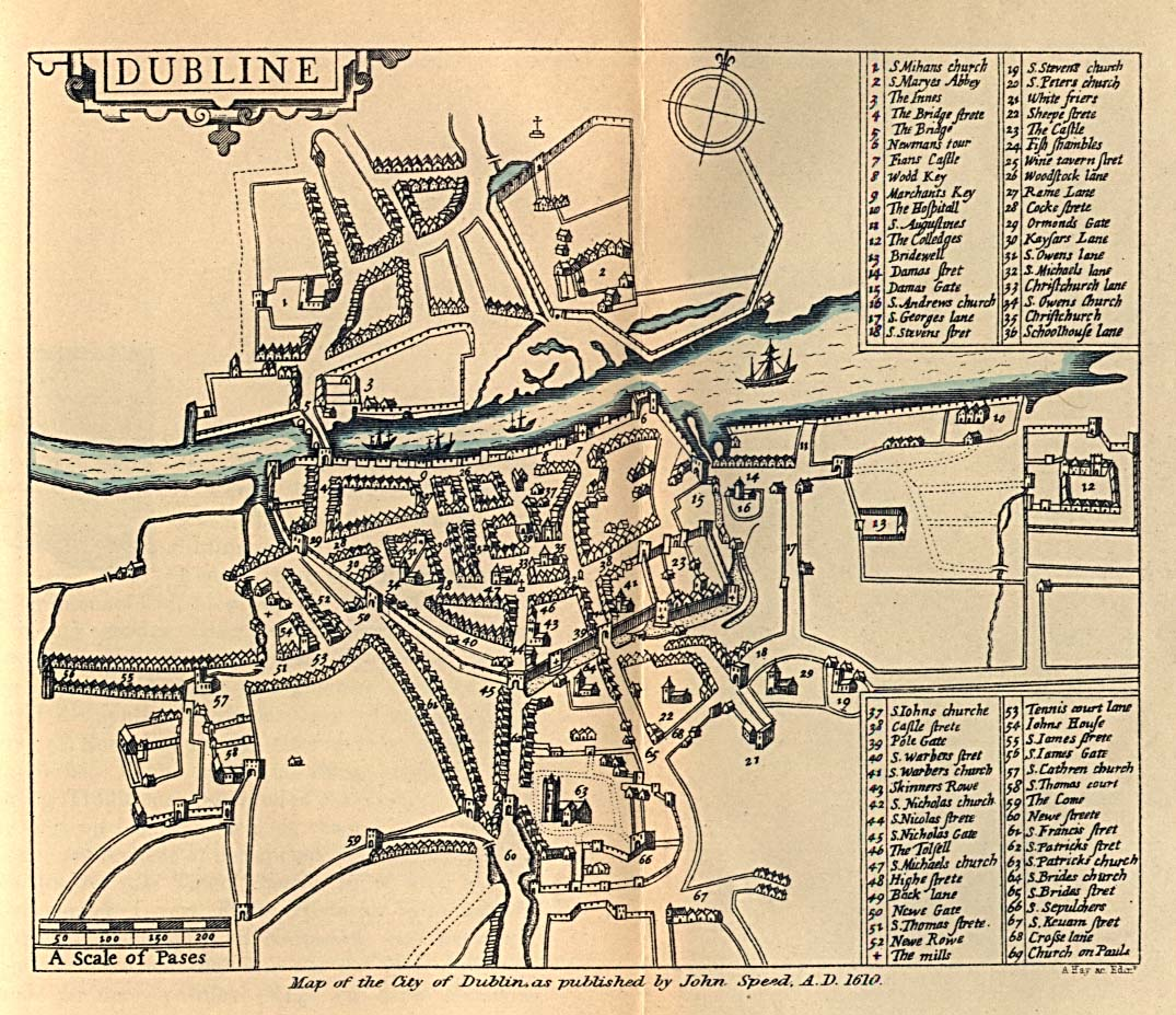 Historical: List Of Streets And Squares In Dublin