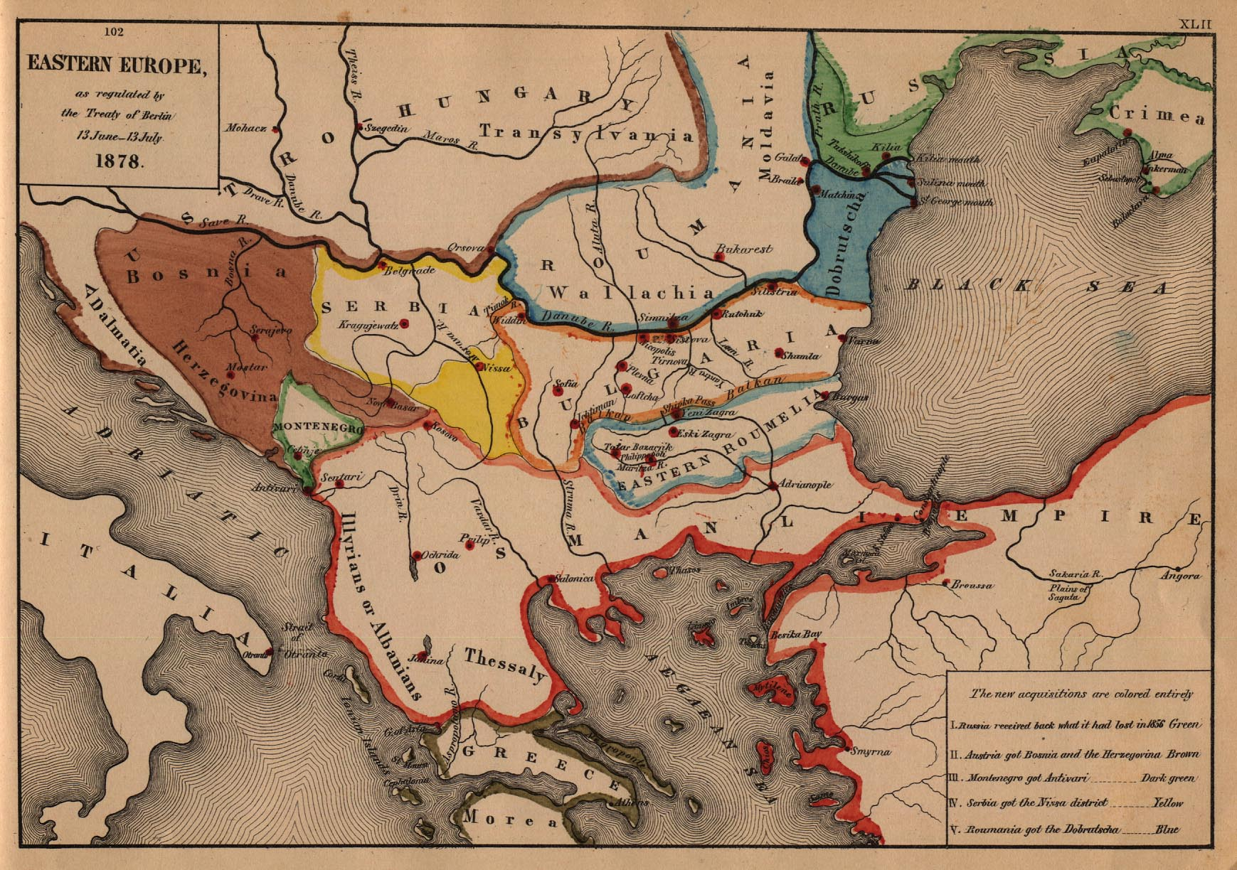 The Balkans Historical Maps Perry Casta eda Map Collection UT Library Online