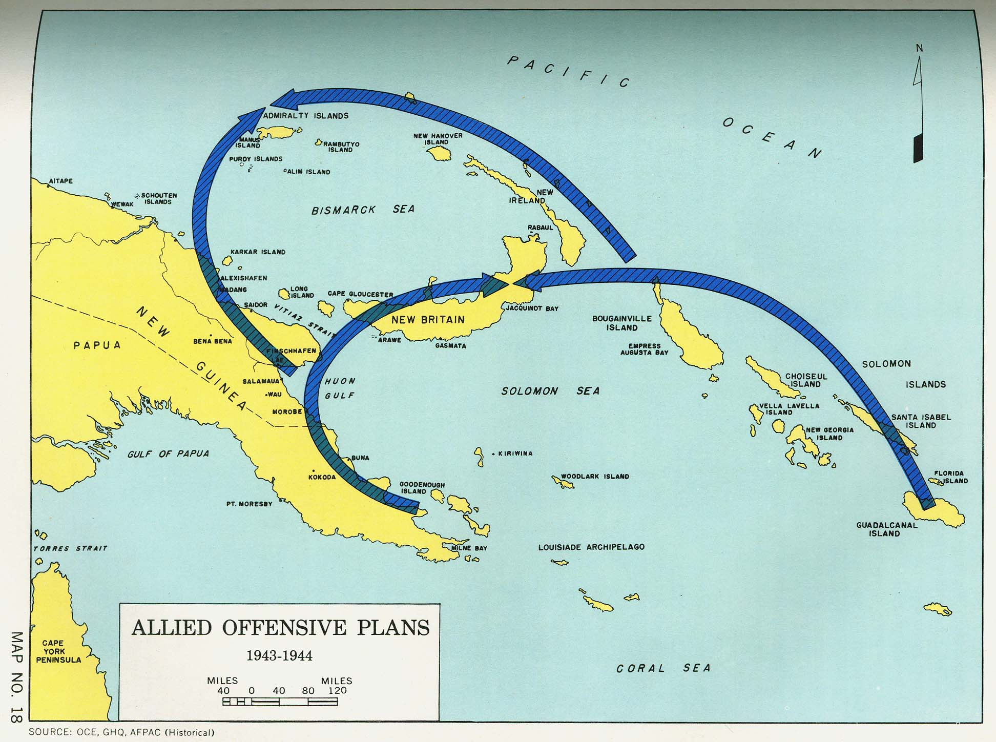 Engineers Of The Southwest Pacific Vol Perry - Map of us allies in the asia pacific