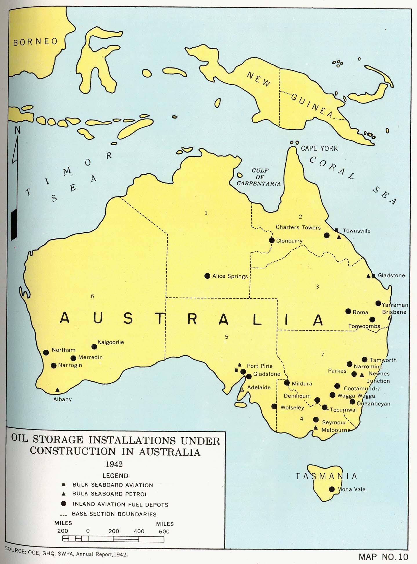 Oil Storage Installations Under Construction In Australia