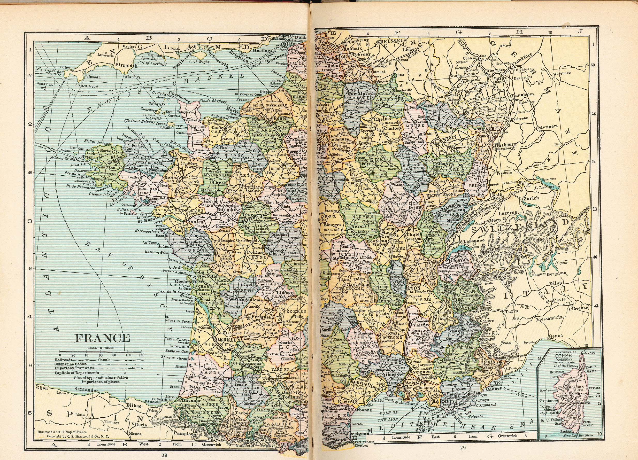 Map Of France France.France Maps Perry Castaneda Map Collection Ut Library Online