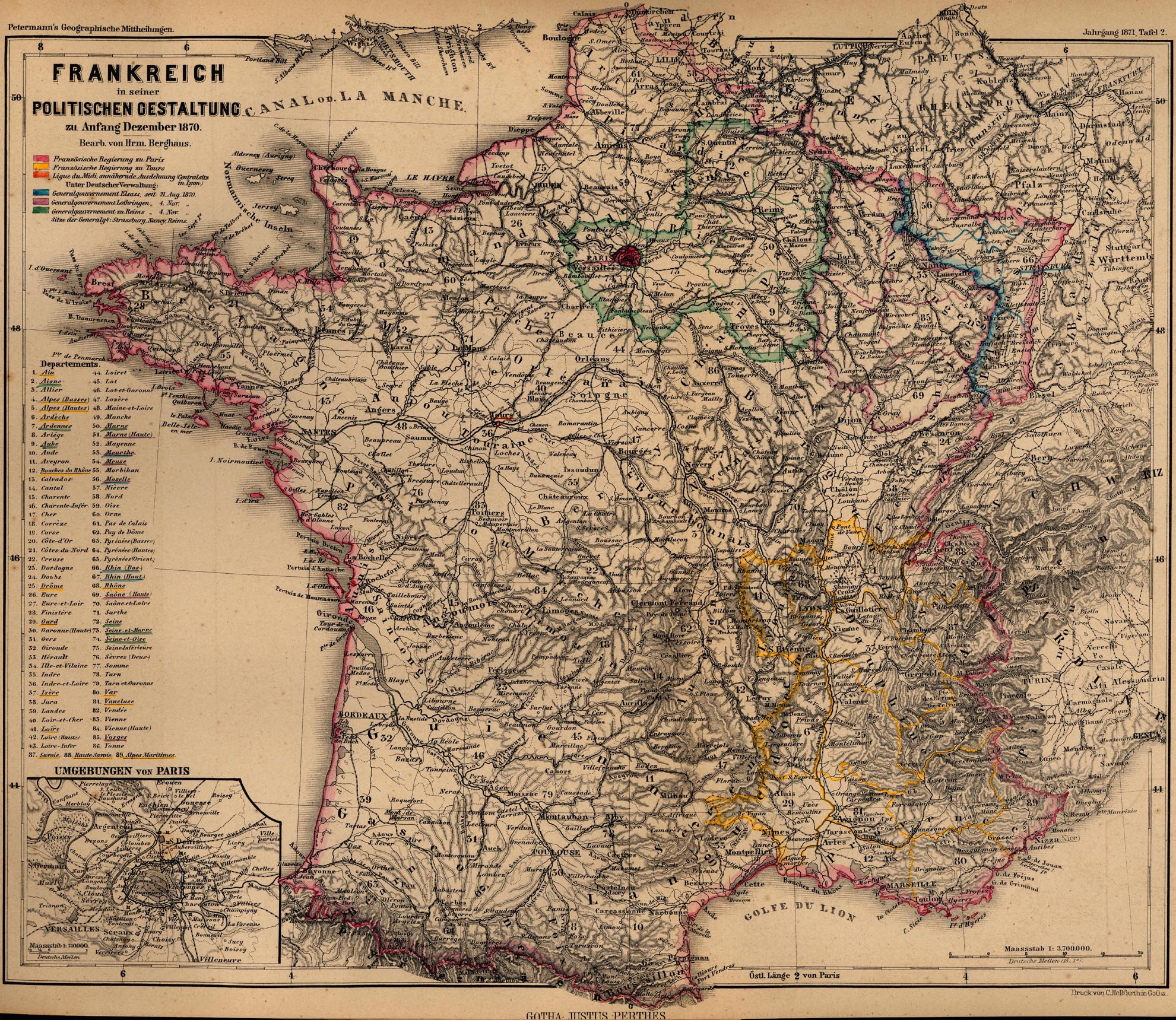 Map Of France 1600.France Maps Perry Castaneda Map Collection Ut Library Online