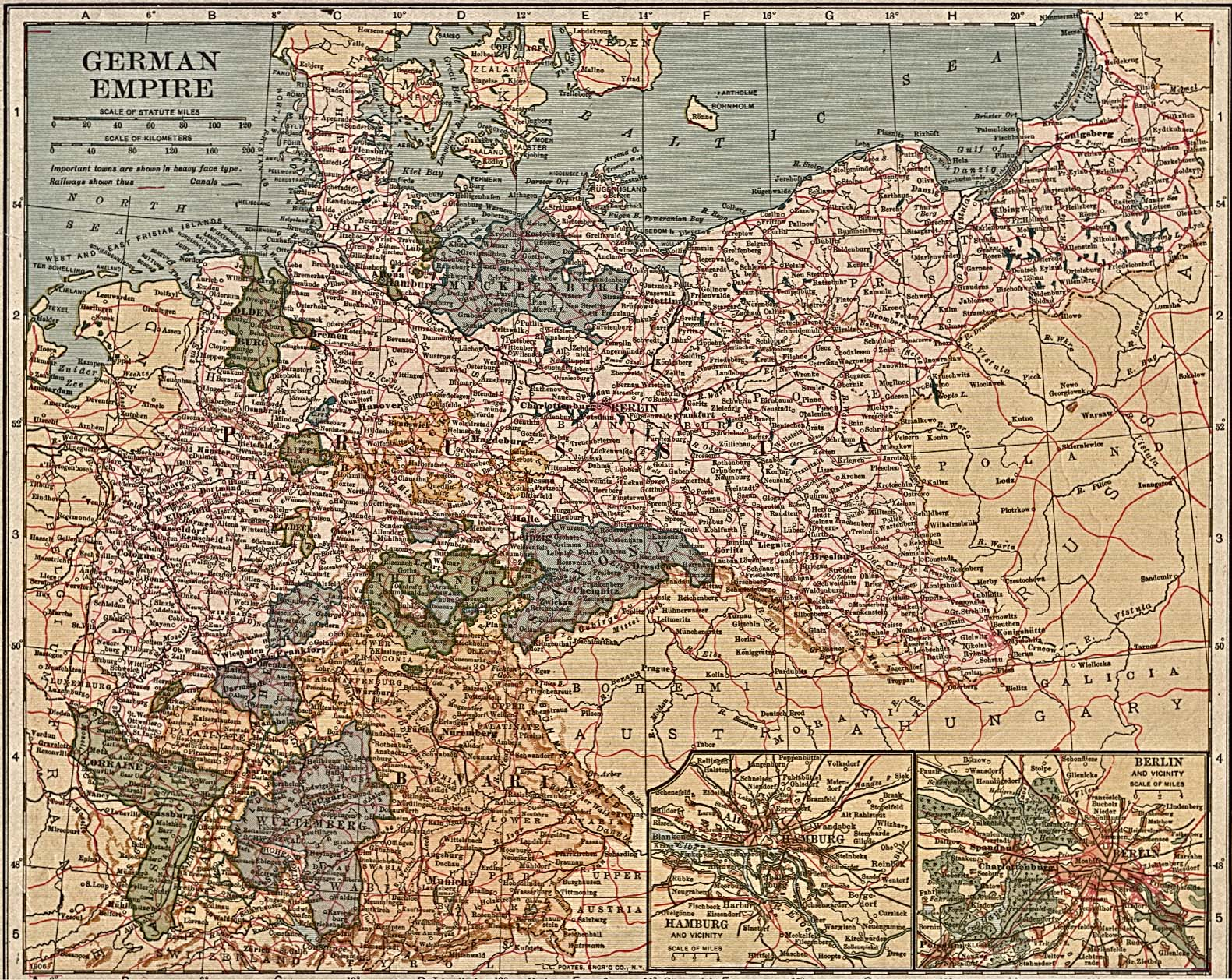 Map Of Old Germany.Whkmla Historical Atlas Germany Page