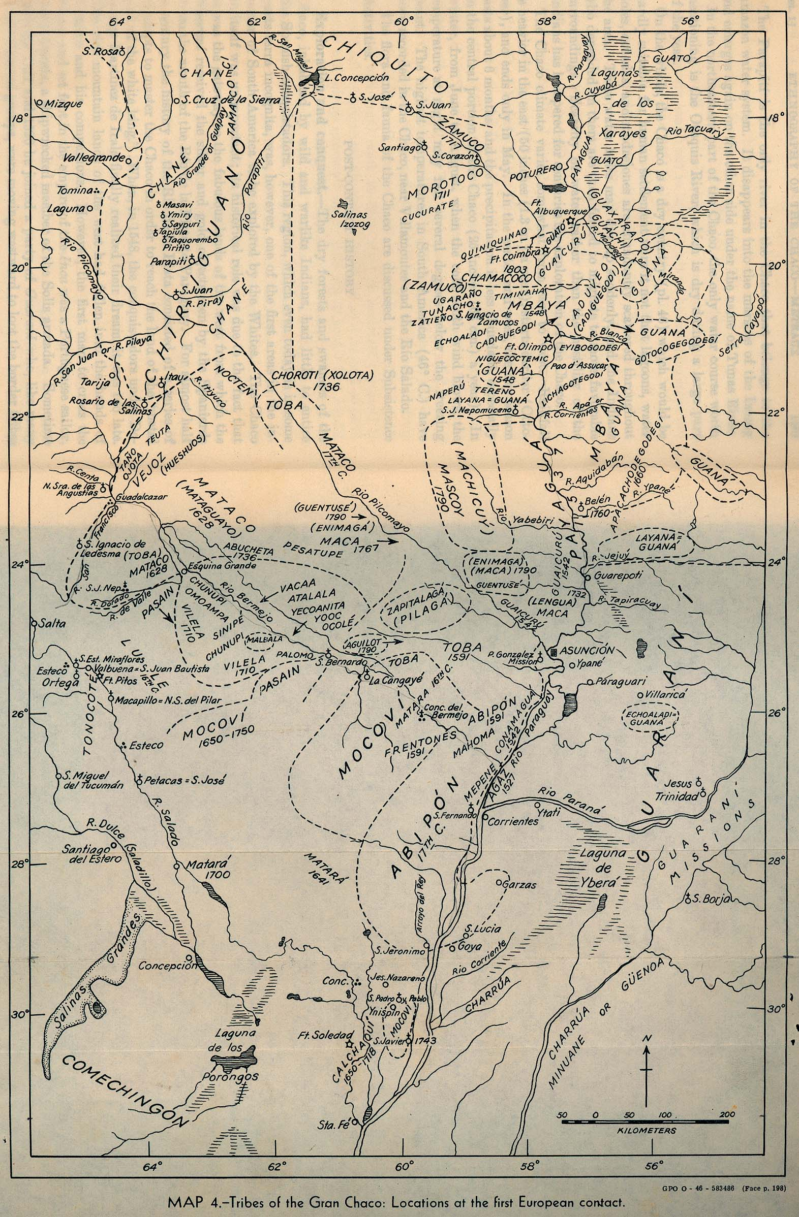 Americas Historical Maps PerryCastañeda Map Collection UT - South america map gran chaco