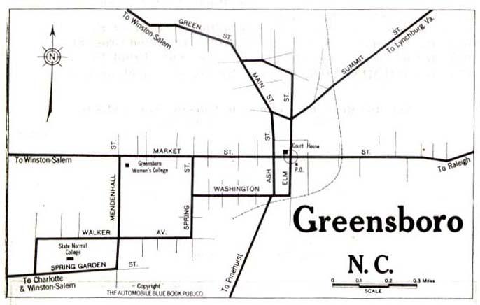 Maps Guilford County NCGenWeb - Greensboro nc on us map