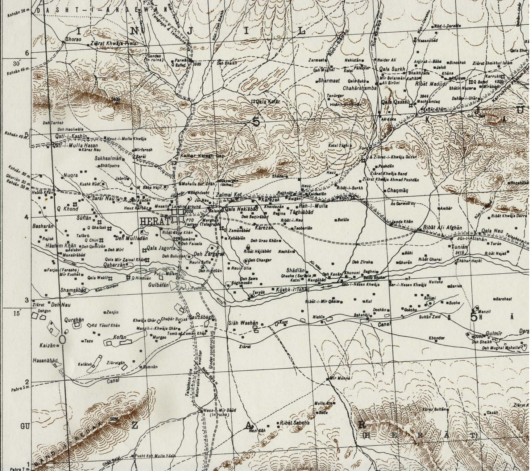 Afghanistan Maps Perry Castaneda Map Collection Ut Library Online - Afghanistan-us-bases-map