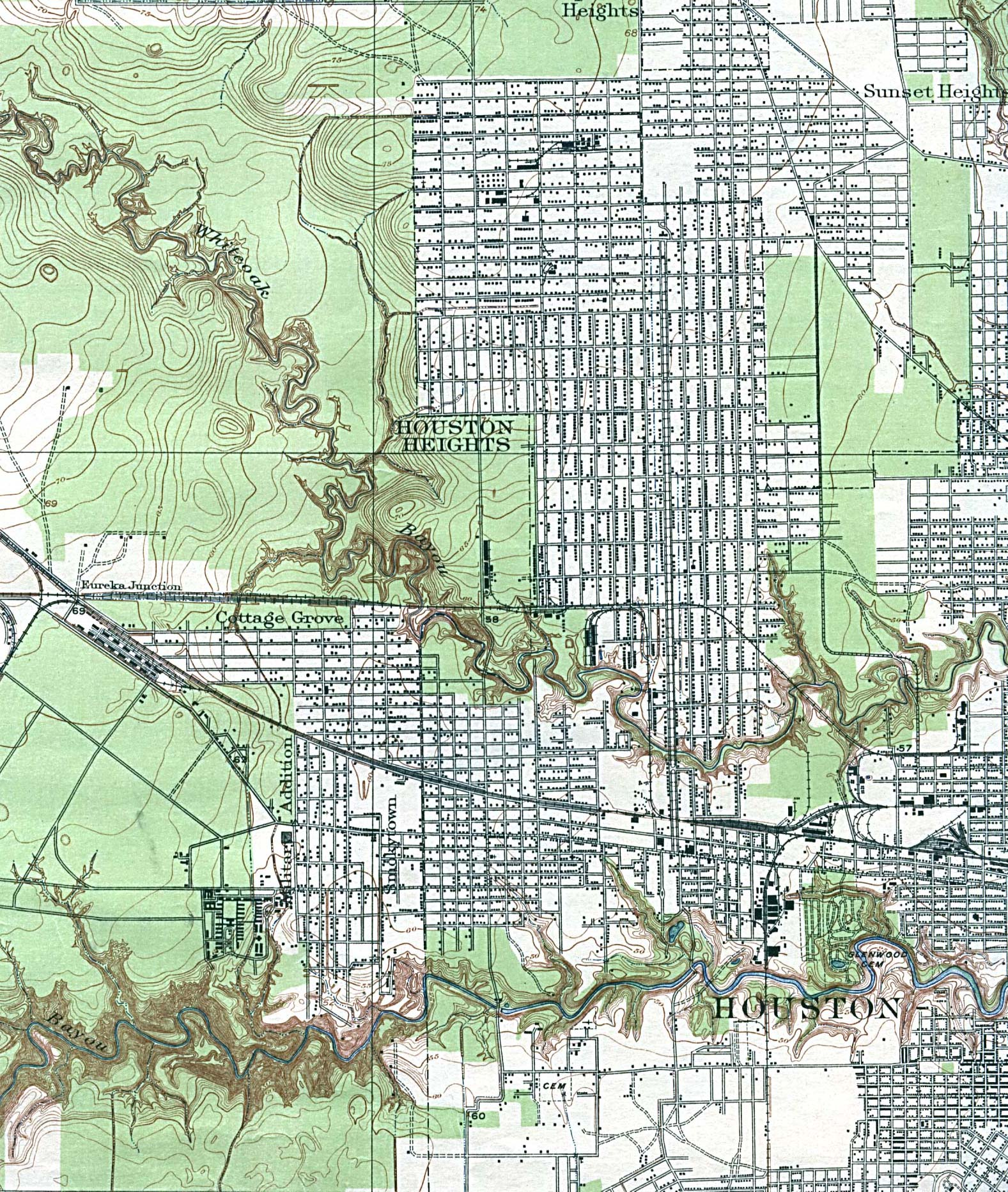 Texas Cities Historical Maps - Perry-Castañeda Map ...
