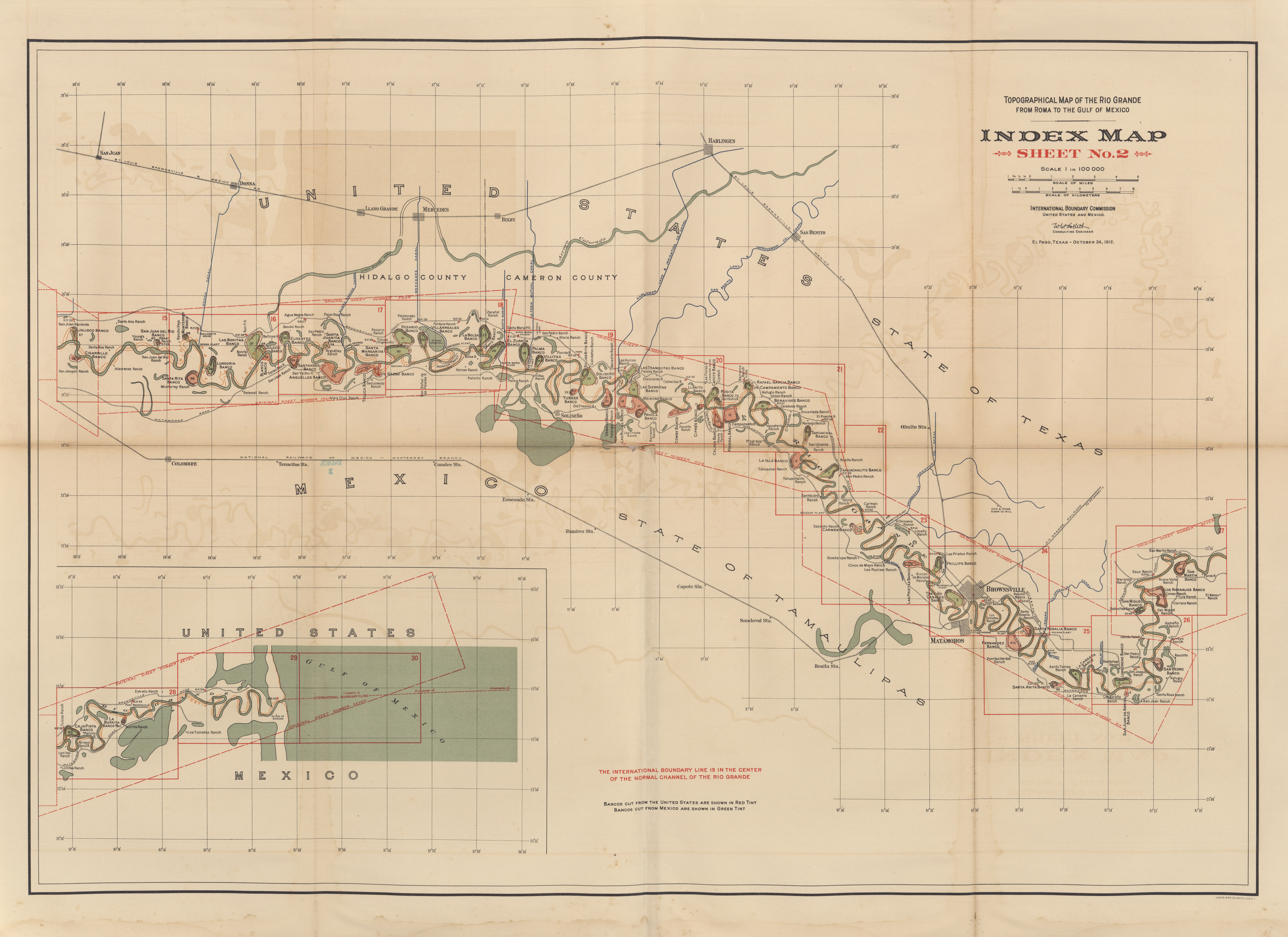 Maps from the International Boundary mission Perry Casta±eda
