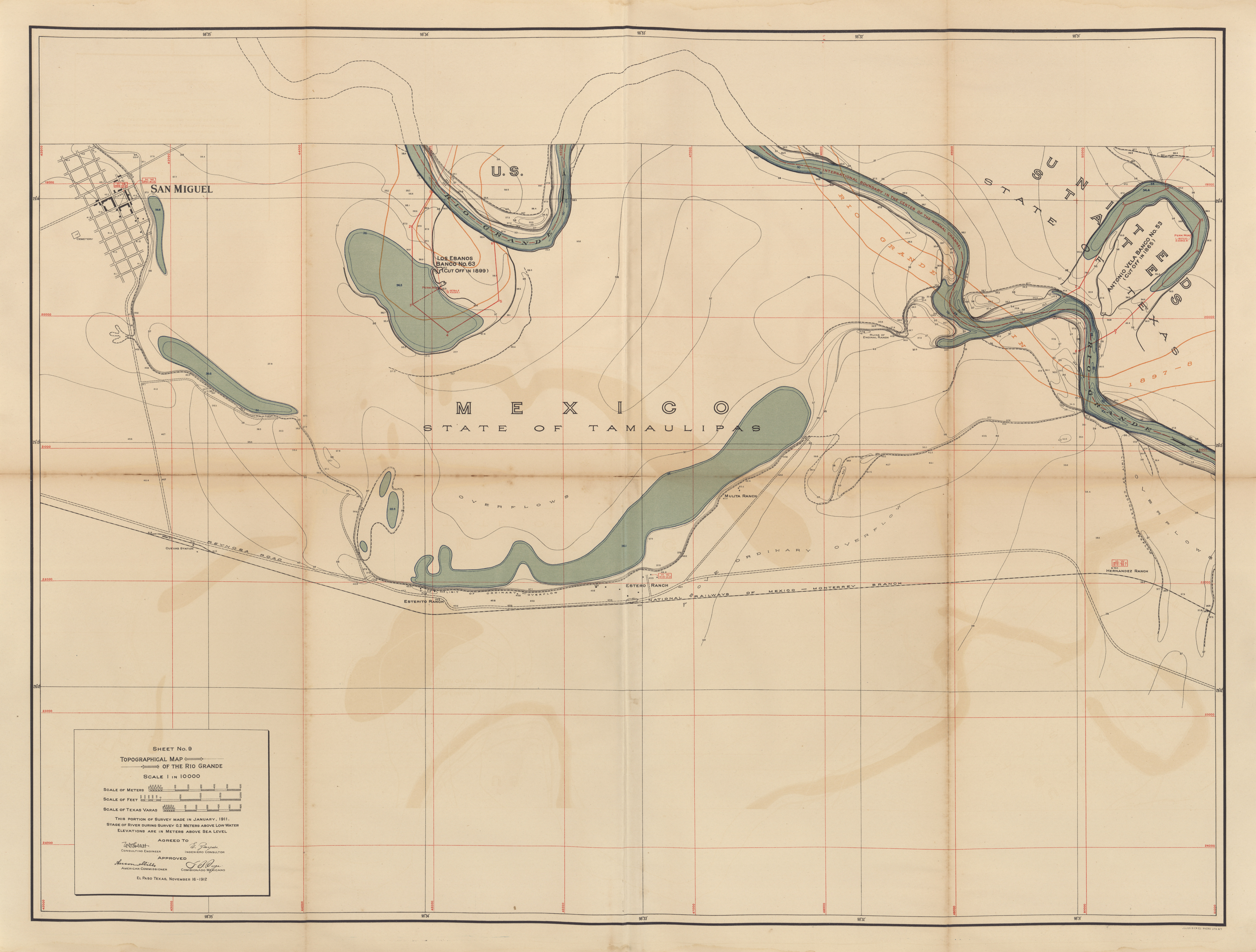 Maps from the International Boundary Commission  PerryCastaeda