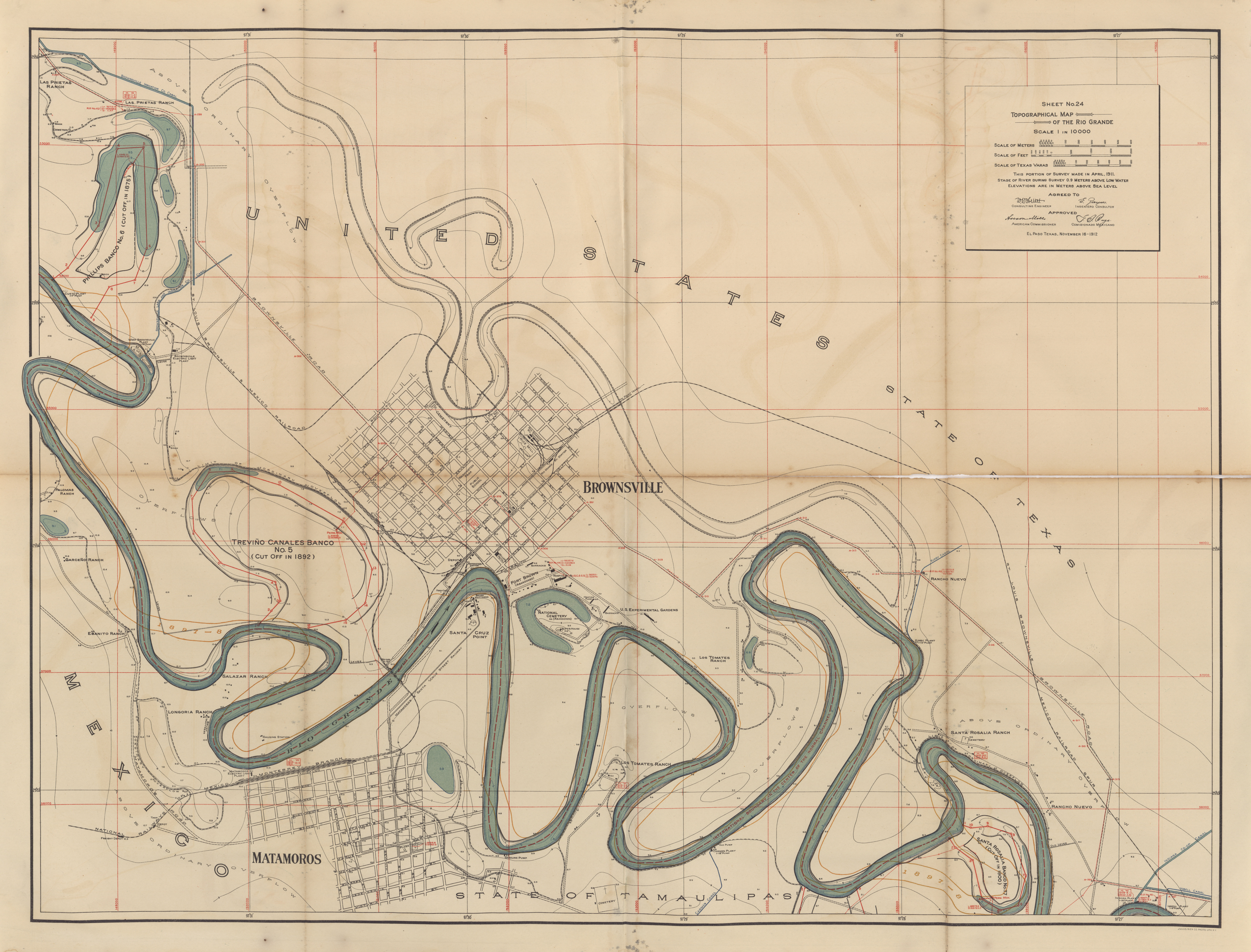 Maps from the International Boundary Commission - Perry-Castañeda ...