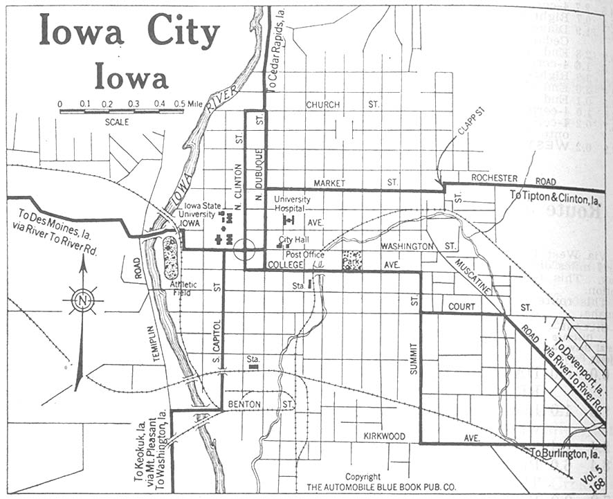 Highways of Iowa City