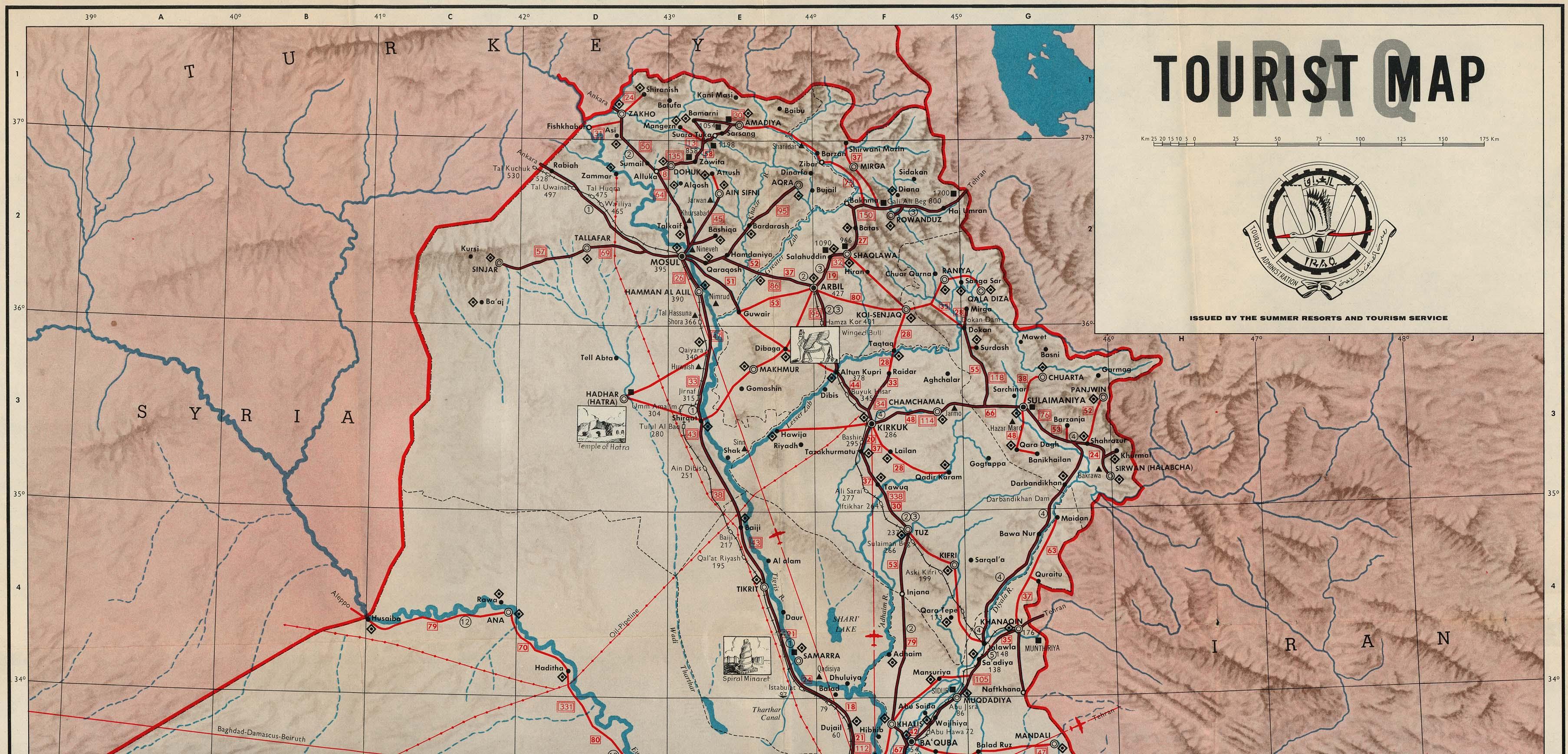 WHKMLA : Historical Atlas, Iraq Page