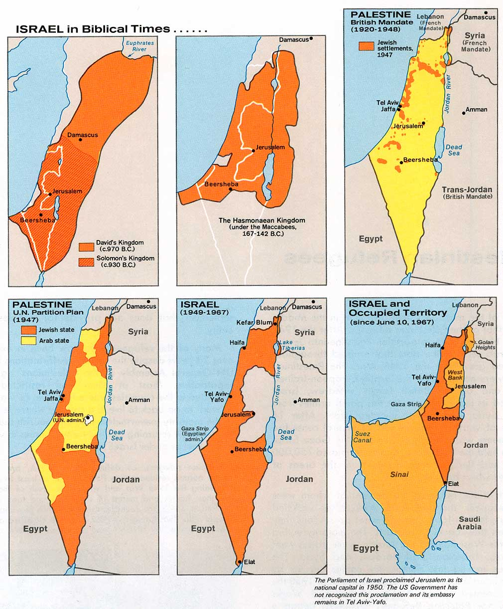 Maps Reframing Israel - Maps of israel