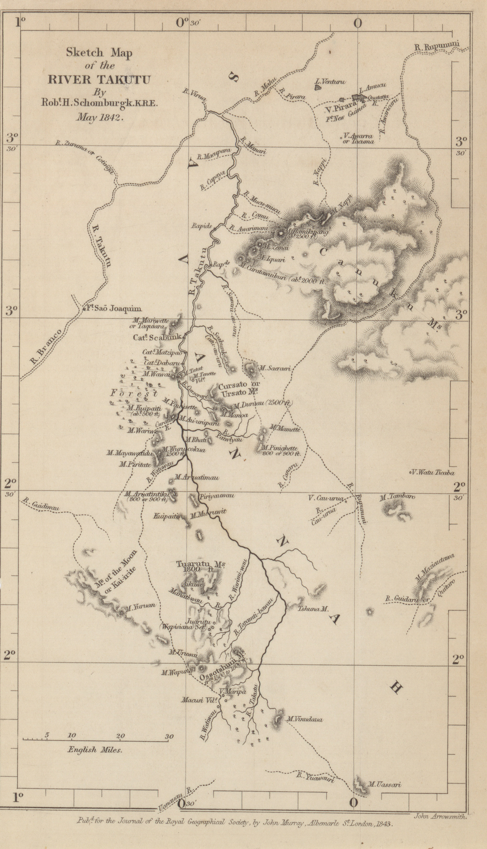 Maps from the Journal of the Royal Geographical Society of London