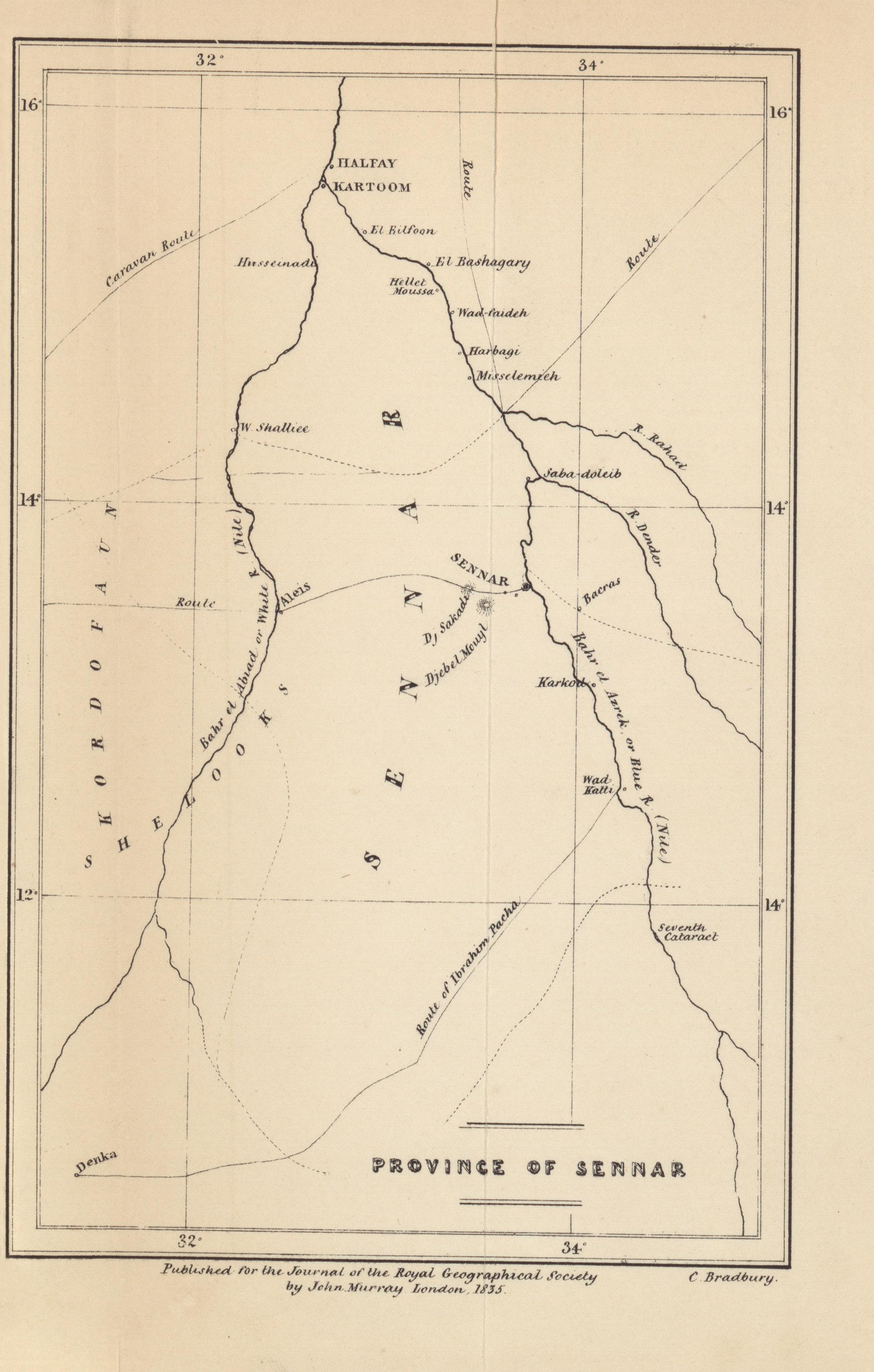 province of sennar lord prudhoe