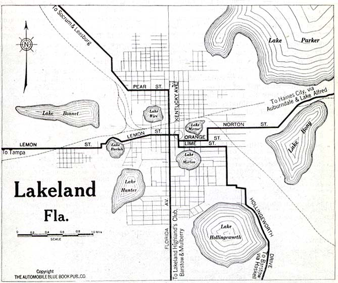 Polk County Florida Maps And Gazetteers