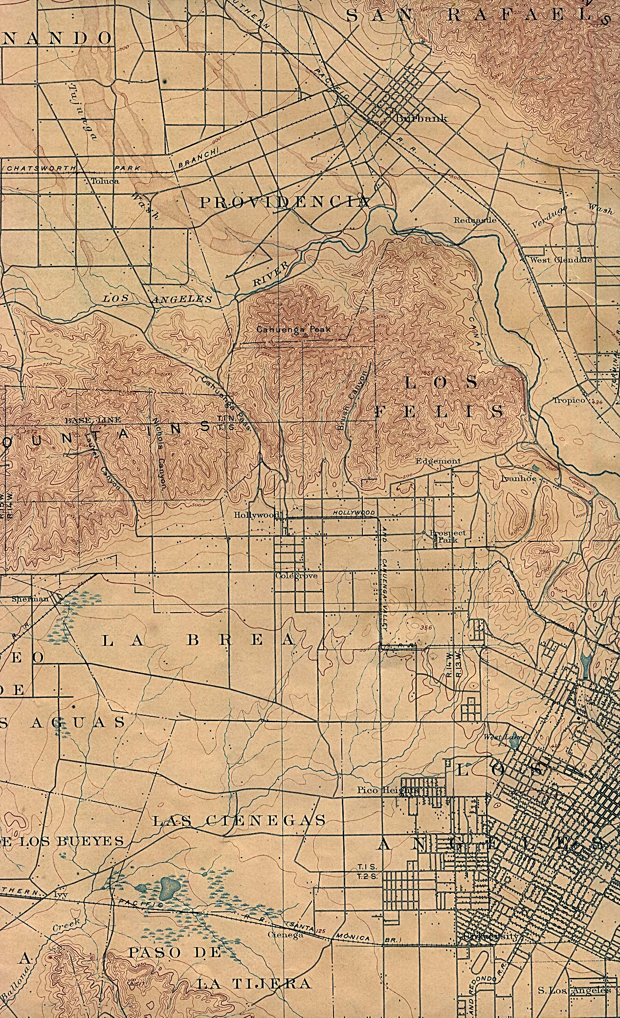 California Maps PerryCastañeda Map Collection UT Library Online - Historic us maps