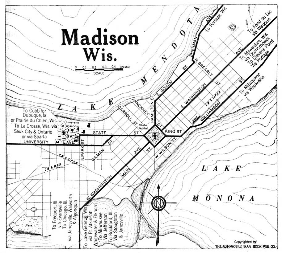 Wisconsin Maps - Perry-Castañeda Map Collection - UT Liry Online on