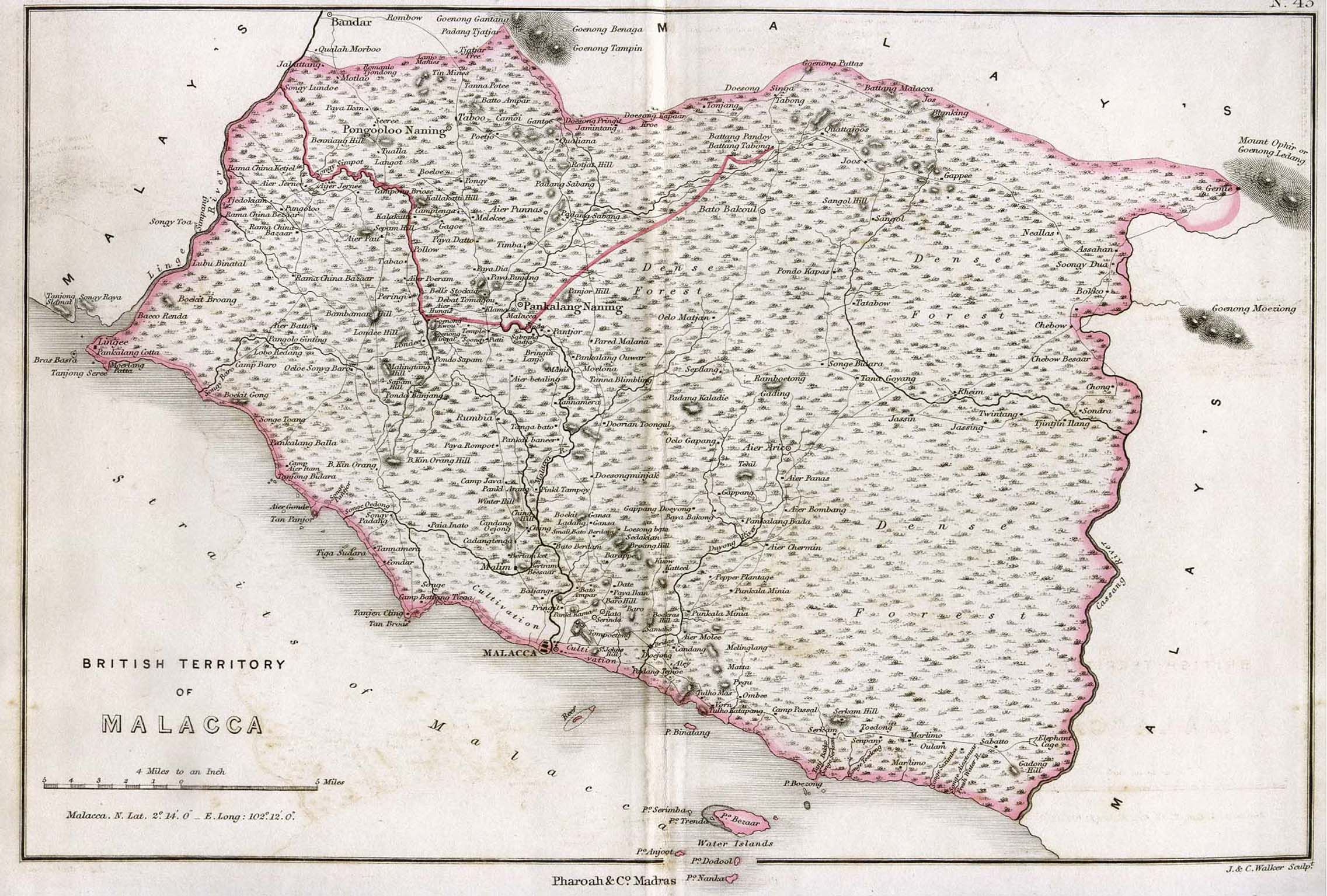 Malaysia Maps Perry Castaneda Map Collection Ut Library Online - 1854-us-map