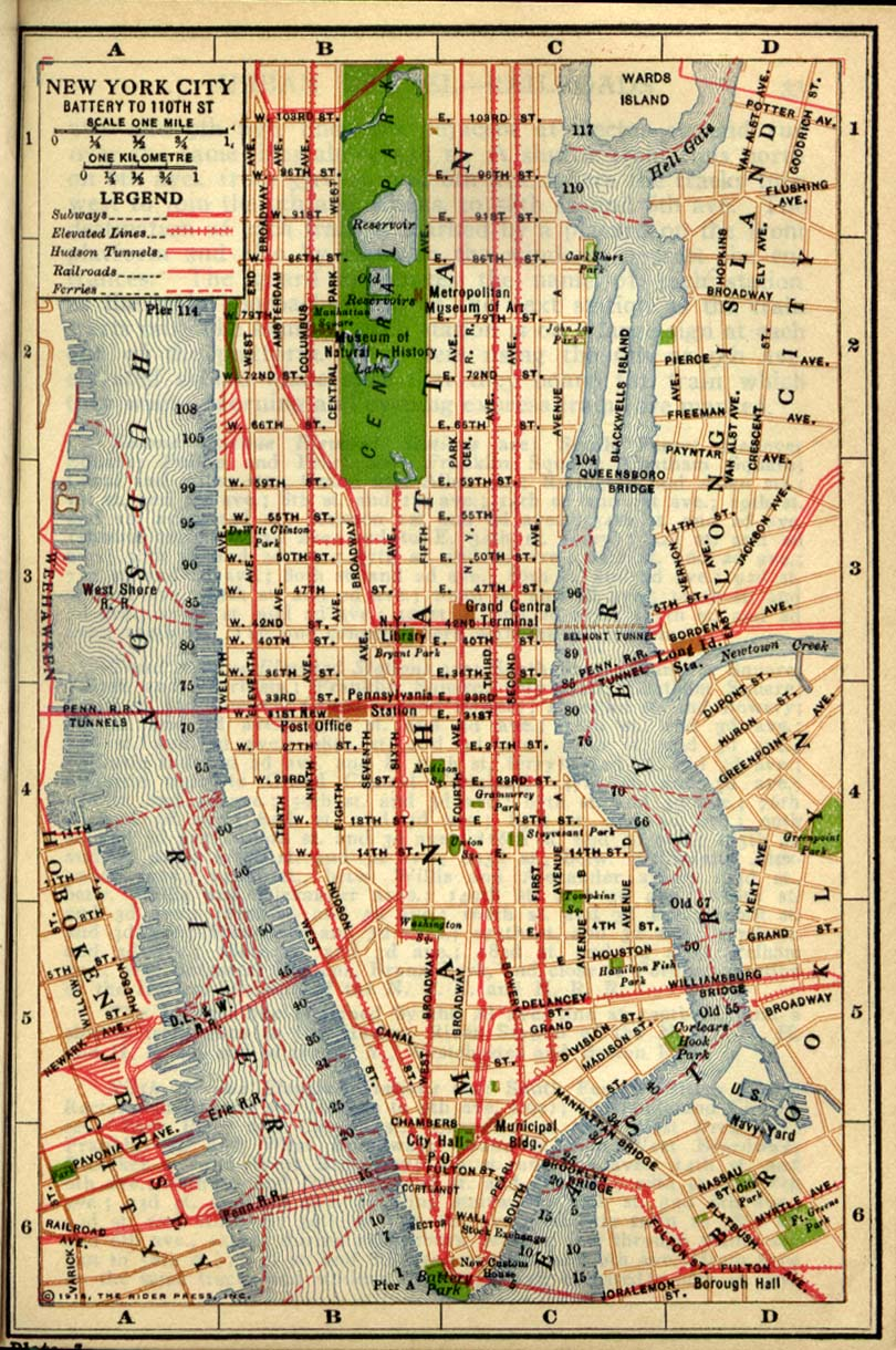 New York Maps Perry Casta±eda Map Collection UT Library line