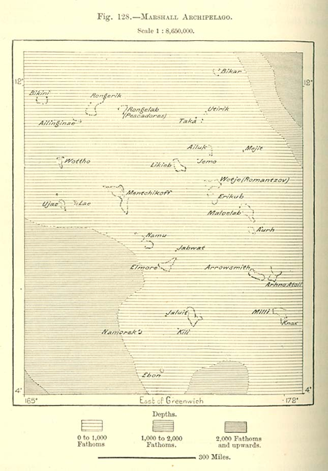 Marshall Islands Maps - Perry-Castañeda Map Collection - UT Library ...