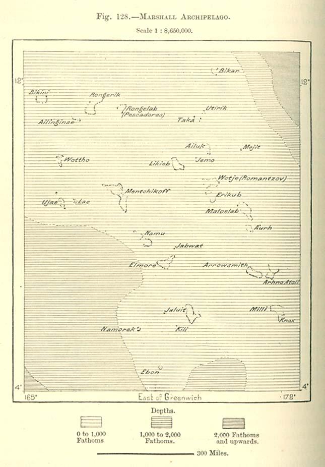 Marshall Islands Maps PerryCastañeda Map Collection UT - Marshall islands map