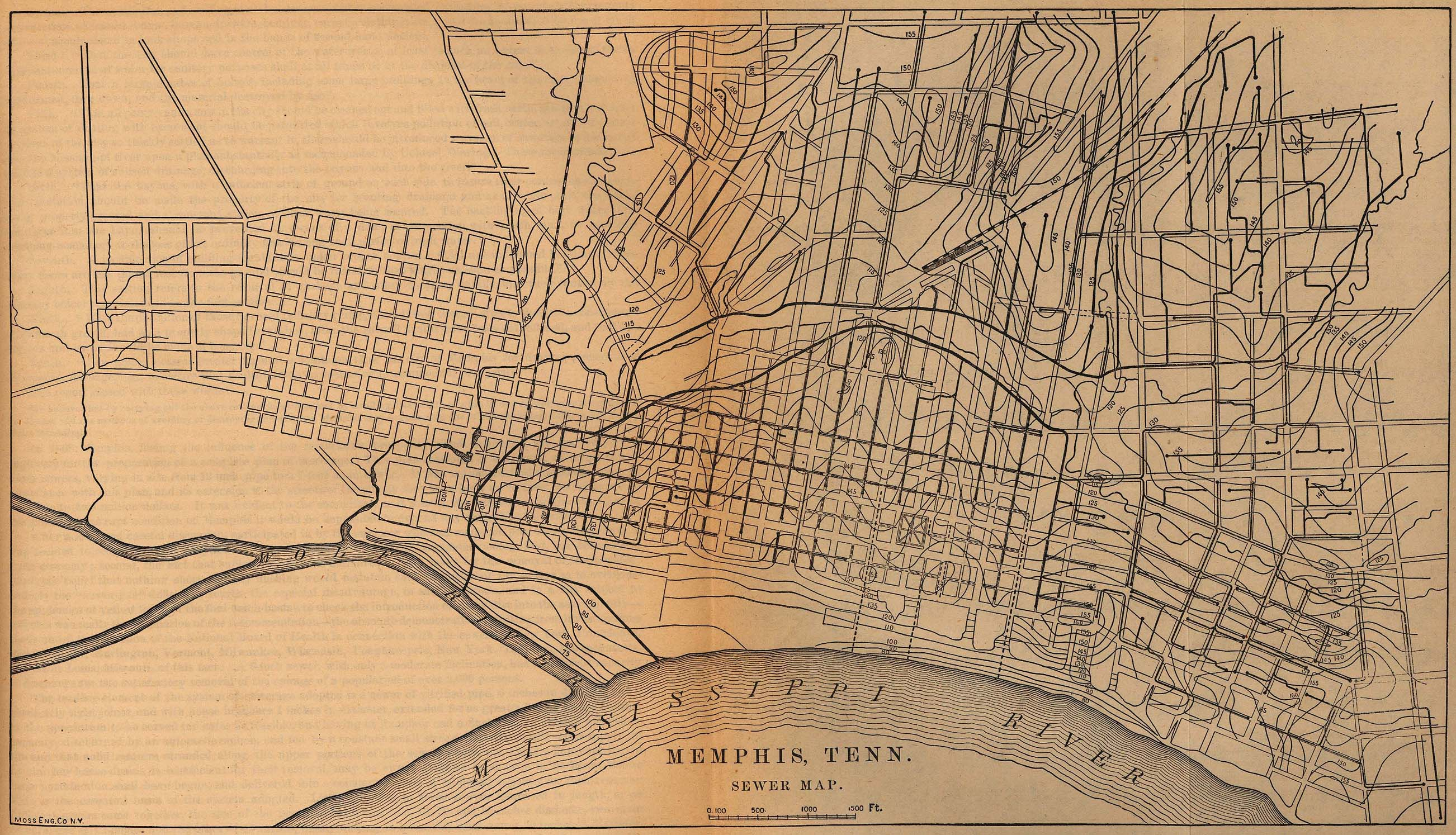 Tennessee Maps PerryCastañeda Map Collection UT Library Online - Memphis on us map